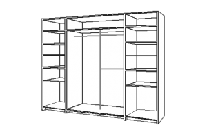 детали для шкафа купе