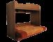 Секция мебельная подростковая «Валенсия-3»