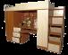 Секция мебельная подростковая «Валенсия-4»