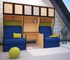 детская мягкая мебель для мальчика