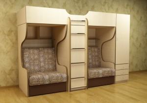 детскую корпусную мебель для мальчика