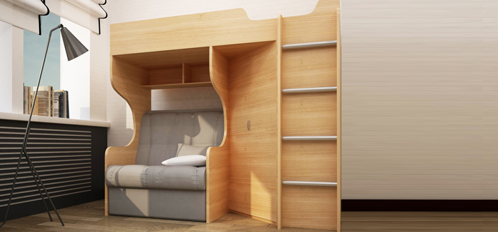 детскую мебель для школьника девочки