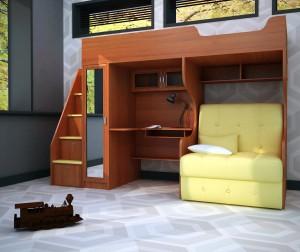 детская спальня мебель для мальчика