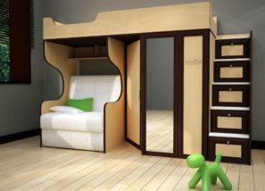 """Подростковая мебельная секция """"Валенсия-16"""""""