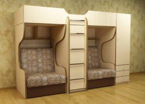 Детская мебель для троих детей Валенсия 10