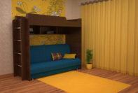 Двухъярусная кровать Валенсия 3